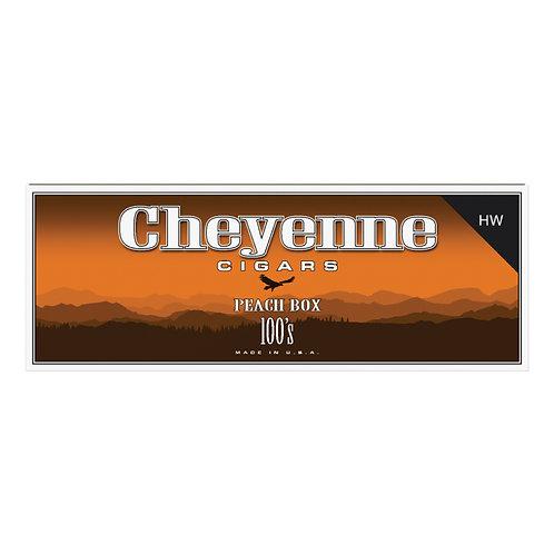 Cheyenne Big Cigar Peach 100 Box