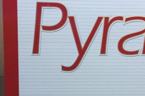 Pyramid Red Filter 100