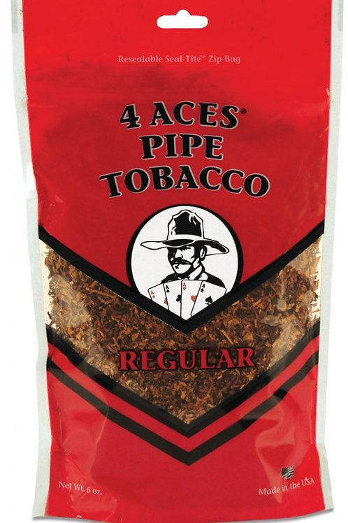 4 Aces Regular Pipe Med 6 Oz Bag