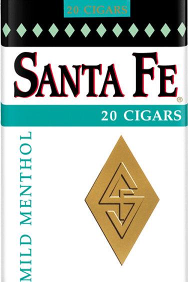 Santa Fe White Menthol Cigar 10 Ct