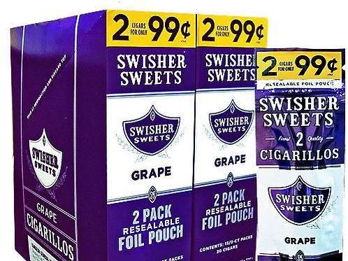 Swisher Sweet Cigar Grape 2/.99 30