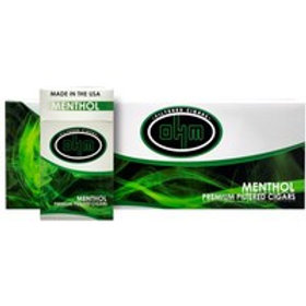 O H M Menthol Filter Cigar 10 Ctn
