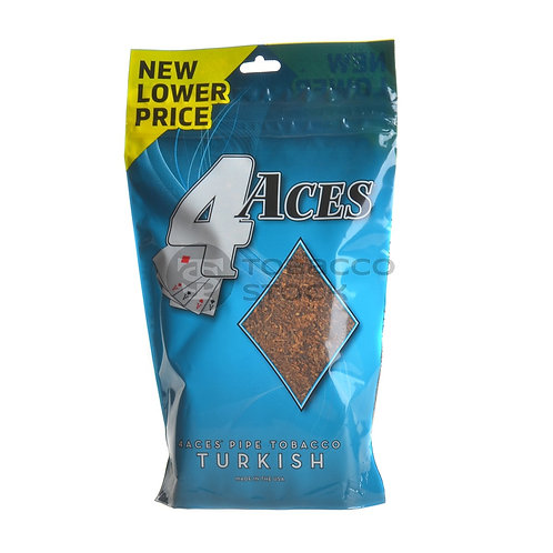 4 Aces Turkish Pipe Tobacco 6 oz