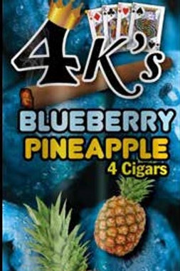 4 Kings Cigar Blue Pineapple 4/.99