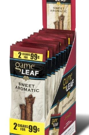 Game Leaf Cigar Sweet 2/.99 15 Ct