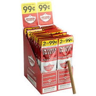 Swisher Swt Cigar Strawberry 2/.99