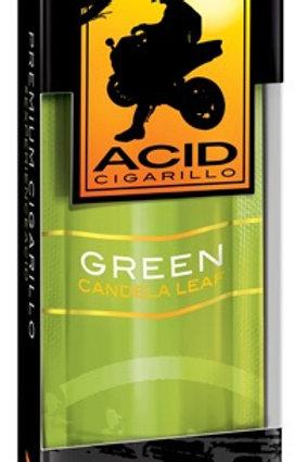 Acid Cigarillo .99 Green 10 Ct