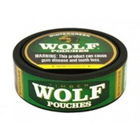 Timber Wolf Wintergreen Pouch 5 Ct