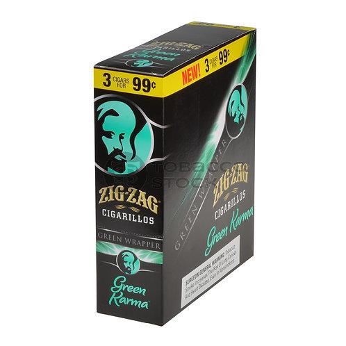 Zig Zag Cigarillo Green Karma 3/.99