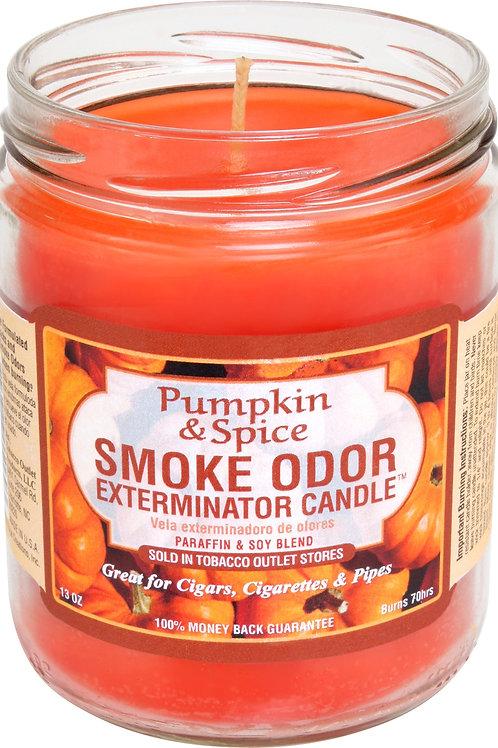 Smoke Odor Jar Pumpkin Spice 13 Oz