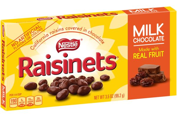 RAISINETS BOX-3.5OZ