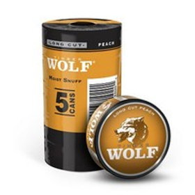 Timber Wolf Long Cut Peach 1.2 Oz 5
