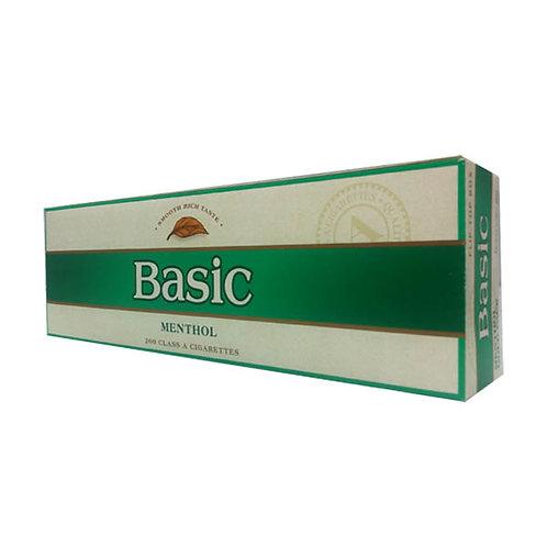 Basic Menthol Gold Box FSC