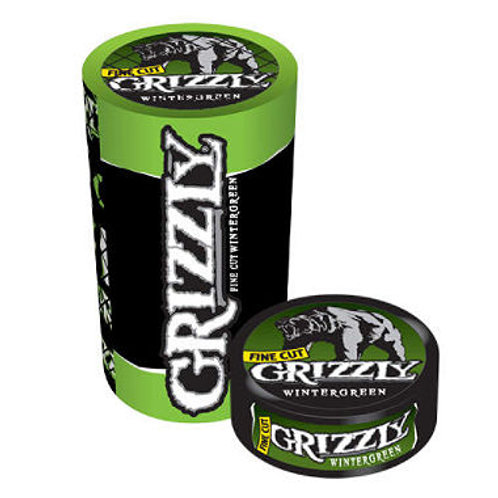 Grizzly Fc Wintergreen 1.2 Oz 5 Ct