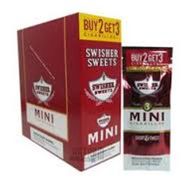 Swisher Sweet Mini Orig B2G3 15 Ct