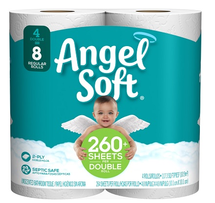 404890 - Angel Soft 4pk 12ct case