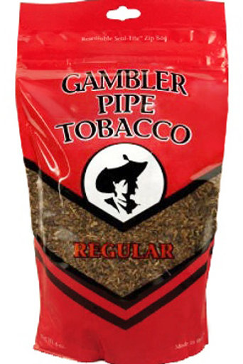Gambler Pipe Tobacco Regular 6 Oz
