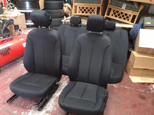 Bmw F30 3 Series Black Cloth Interior