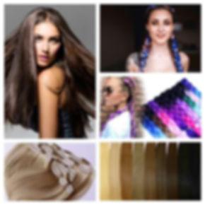 накладные пряди, волосы на заколках в перми