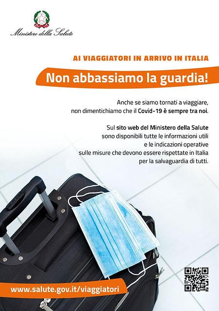 Covid-19 Informazioni viaggiatori