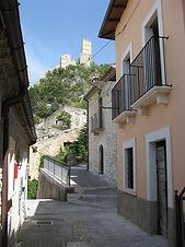 Roccacasale casa con terrazzo da ultimare, Abruzzo house with terrace