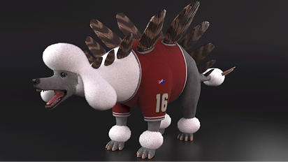 StegoPoodle Dino Dogs Footbal VR starring Marshawn Lynch