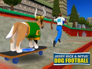 Jerry Rice & Nitus' Dog Football_screen0