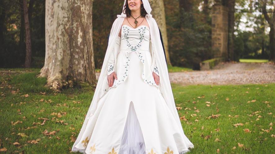 Robe de mariée fantaisy