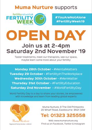 Muma Nurture Open Day for Fertility Week