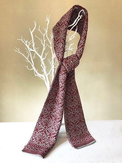 Dents knitted long scarve