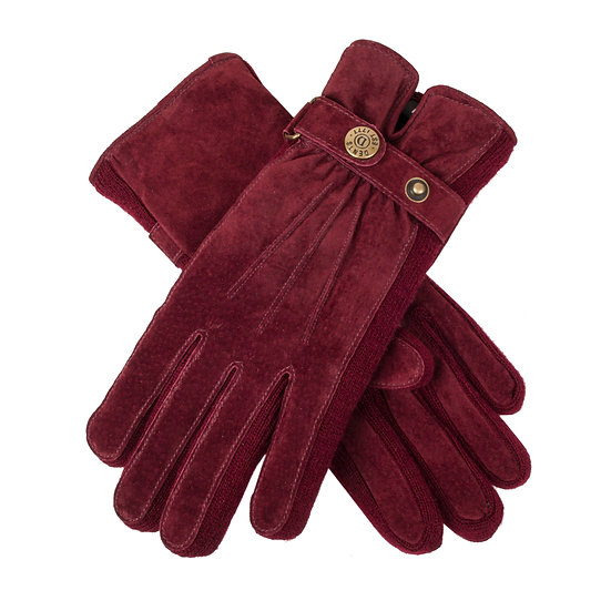 Dents 'Laura' ladies suede walking glove
