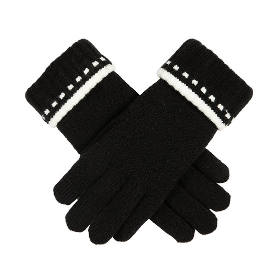 Dents fabulous chenille lined glove with 'touchscreen'.