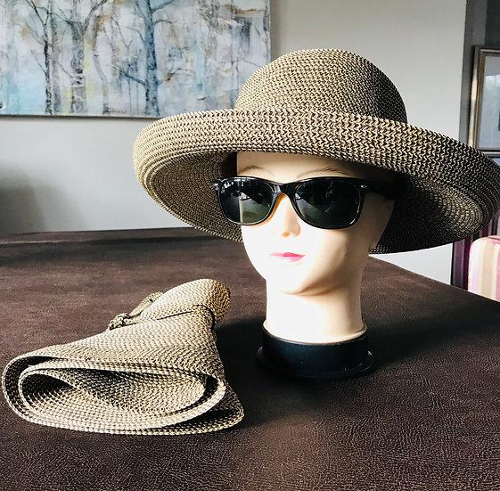 Traveller Toyo straw sun hat
