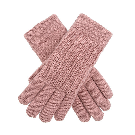 Dents knitted glove with lovely lurex thread