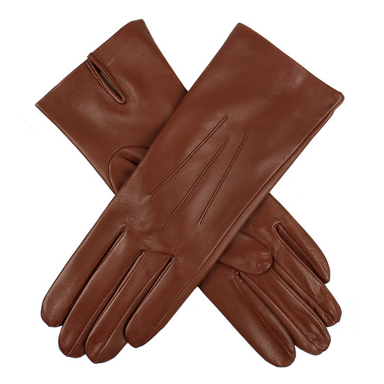 Dents 'Felicity' ladies leather silk lined glove