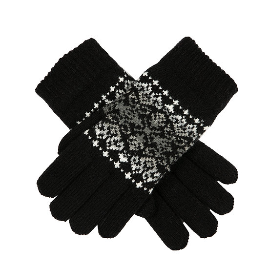 Dents knitted gloves with chenille lining