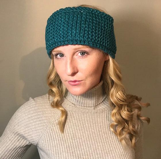 Chunky knitted headband