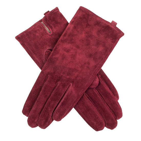 Dents 'Emily' ladies pig suede glove