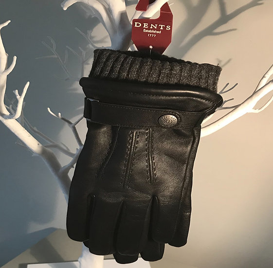 Mens leather Dents glove