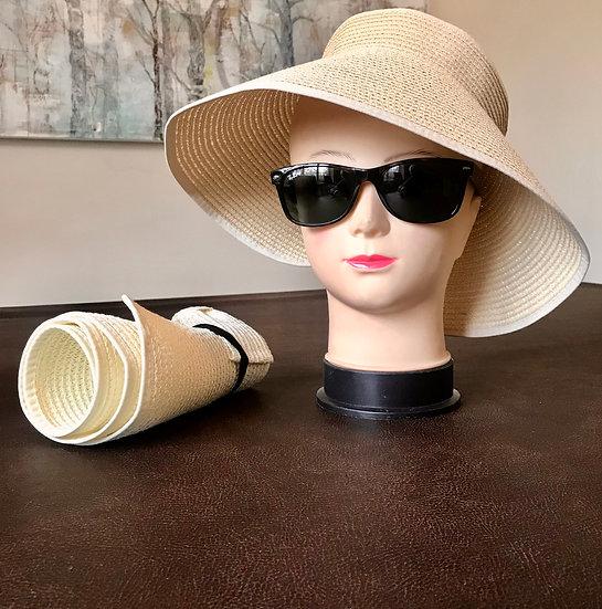 Super large straw visor
