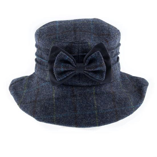 Dents bucket style tweed hat