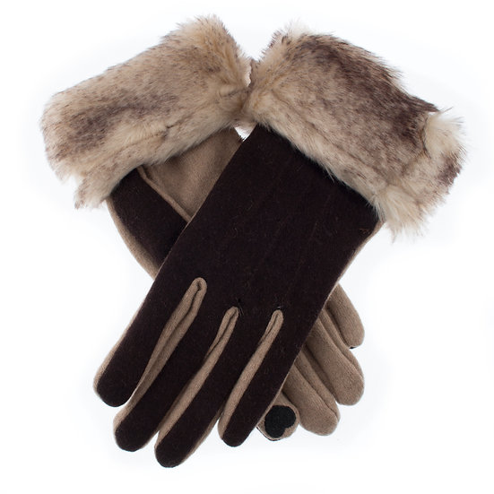 Dents wool glove with 'Touchscreen techology'