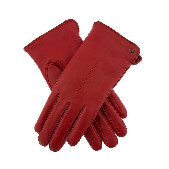 Dents Samantha ladies faux fur leather glove