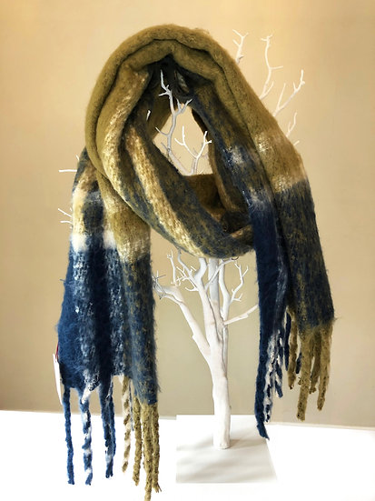 Dents large blanket scarf.