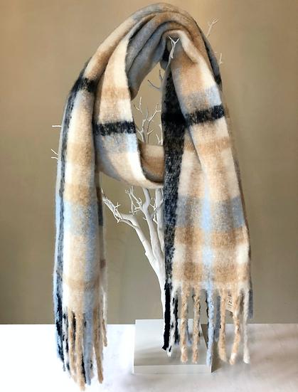 Dents large blanket scarf.