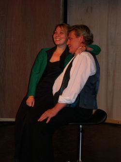 Michelle Hansen og Ole Holmgren
