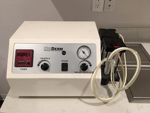 NuDerm Microdermabrasion Machine with Crystal + Diamond Peel