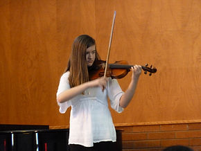 Student violin reecital.