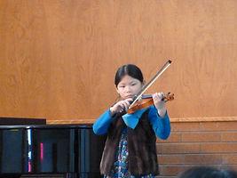 Student violin recital.