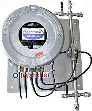 Hazardous area oil-in-water monitor